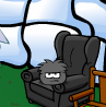 black-puffle-in-blakc-chair.png