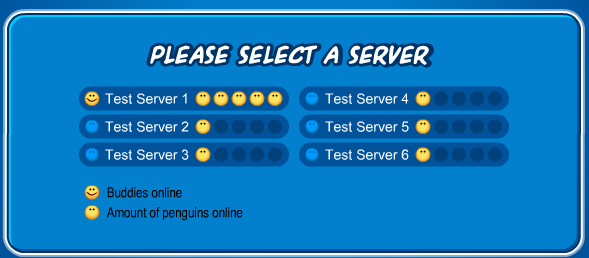 how to change server on club penguin